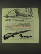 1973 Ithaca Gun LSA Rifle Ad - You Can Afford