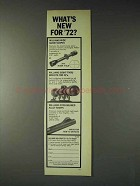 1973 Williams Gun Sight Ad - Scopes, Mounts, Ramps