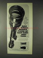 1973 Leupold Scope Ad - Mechanical Precision