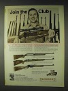1972 Browning Ad - BAR, Bolt Action, BLR Rifles