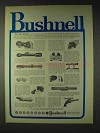 1972 Bushnell Sports Optics Ad - For The Latest