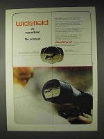 1972 Redfield Widefield Scope Ad - No Contest