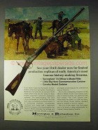 1972 H&R Ad - Springfield '73 Officer's Model Rifle