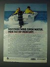 1972 Mercury Merc 1400 Outboard Motor Ad - Discover