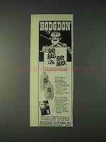 1972 Hodgdon Spit Ball and Spit Patch Ad