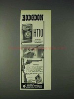 1972 Hodgdon H110 410 Ga. Shotshell Powder Ad