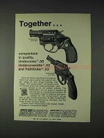 1972 Charter Arms Ad - Undercover, Pathfinder Revolvers