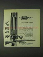 1972 Mauser 3000 Rifle Ad - Right or Left Hand