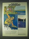 1970 Pennsylvania Tourism Ad - Wade Into Outdoor Life