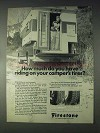 1970 Firestone Transport 500 Wide Oval Truck Tires Ad