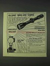 1970 Williams Gun Sight Ad - Guide Line Scopes