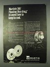 1969 Martin Model 70 Fishing Reel Ad - Keep Its Cool