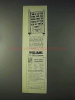 1969 Williams Gun Sight Ad - Come to The Aid of Rifle