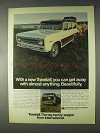 1969 International Harvester Travelall Ad - Get Away