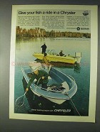 1969 Chrysler Boats Ad - Sport Fury Cathedral +