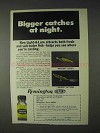 1969 Remington Light-a-Lure Ad - Catches At Night