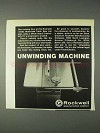 1969 Rockwell Delta Motorized Table Saw Ad