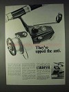 1968 Zebco Cardinal Fishing Reel Ad - Upped the Anti
