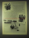1968 Heddon 205 Fishing Reel Ad!