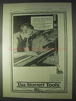 1922 Starrett Tools Ad - Universal Surface Gages No. 57