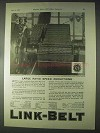 1922 Link-Belt Silent Chain Drive Ad - Speed Reductions
