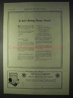 1922 Texaco Ad - Nabob, Aleph and Altair Oil