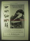 1922 Wallace Bench Machines Ad - Universal Saw, Planer