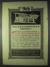 1922 Miehle Printing Press Ad - Does Your School Teach