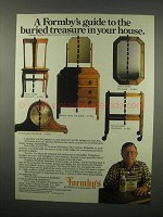 1982 Formby's Furniture Refinisher Ad - Buried Treasure