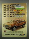 1983 AMC Eagle Wagon Ad - For the Wet