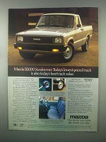 1983 Mazda B2000 Sundowner Truck Ad - Best Value