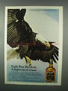 1982 Eagle Rare Bourbon Ad - Higher Level of Taste