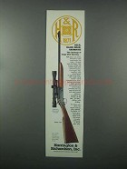 1982 Harrington & Richardson Model 158 Rifle Ad