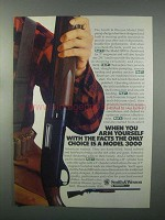 1982 Smith & Wesson Model 3000 Shotgun Ad - Facts