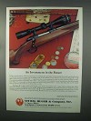 1982 Ruger M-77 Rifle Ad - Investment in the Future