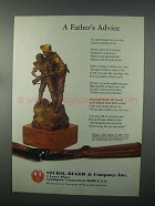 1982 Ruger Firearms Ad - A Father's Advice