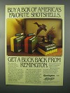 1982 Remington Shotshells Ad - America's Favorite