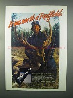 1982 Redfield Illuminator Widefield Scope Ad