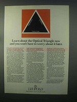 1982 Leupold Scopes Ad - Learn About Optical Triangle
