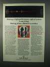 1982 Leupold Scopes Ad - High Performance Optical