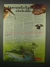 1981 Rapala Minnow Lure Ad - Tell From Look-Alike