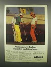 1981 ARAMCO Services Company Ad - Desert Dwellers