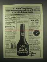1981 STP Gas Treatment Ad - Costs More. It should!