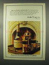 1981 Christian Brothers Brandy Ad - Fireside Coffee