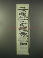 1981 Williams Gun Sight Ad - Customize Sporting Rifle