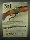 1981 Ruger No. 1 Single-Shot Rifle Ad - The Challenge