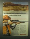 1981 Redfield Accu-Trac Scope Ad - The Only Trophy