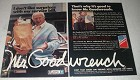 1981 GM Mr. Goodwrench Service Ad - My Bill