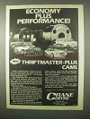 1980 Crane Cams Thriftmaster-Plus Cams Ad