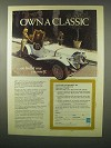 1980 Classic Motor Carriages Gazelle Car Ad - A Classic